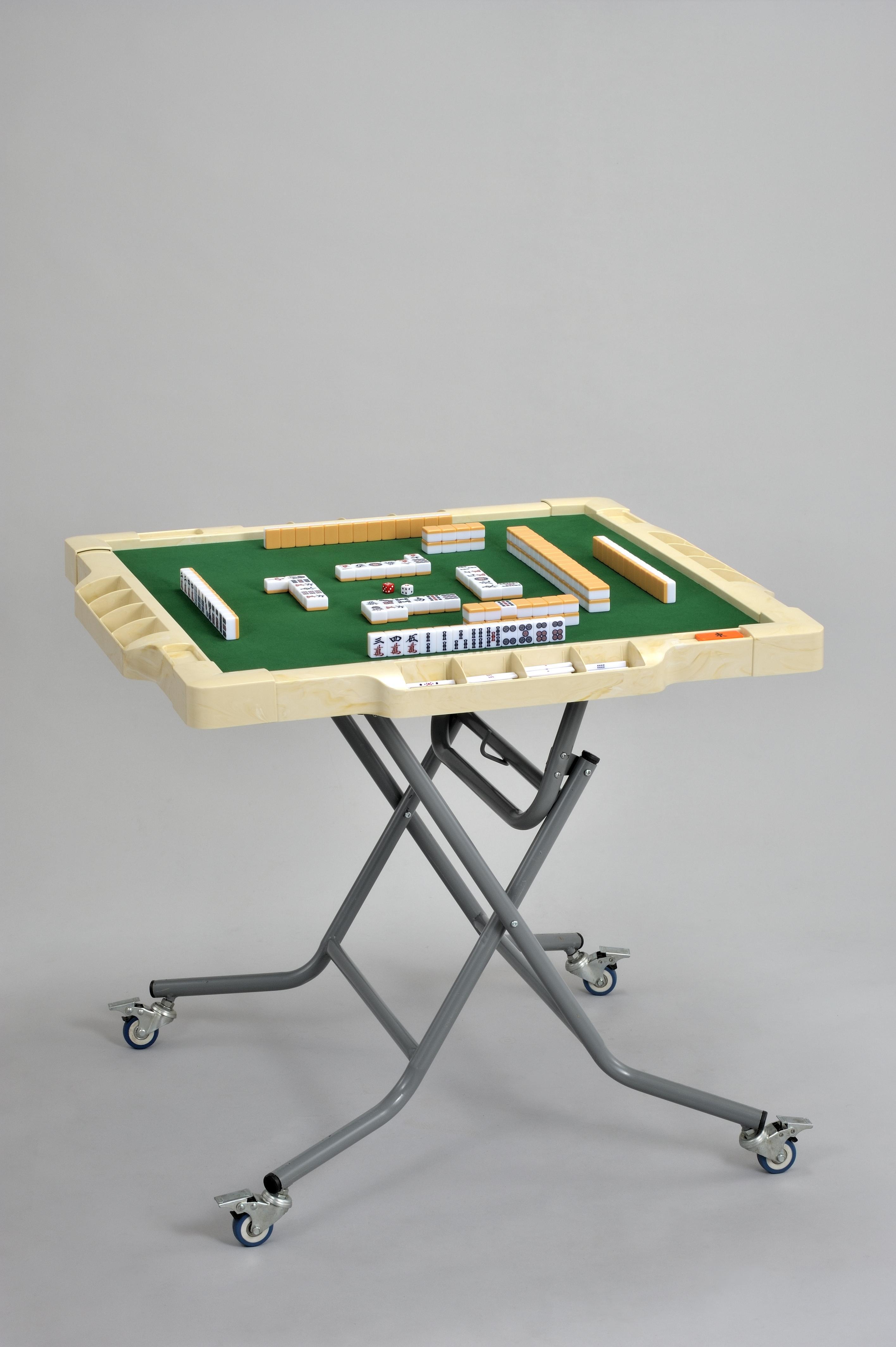 折りたたみ式手打麻雀卓「ジャンロード」