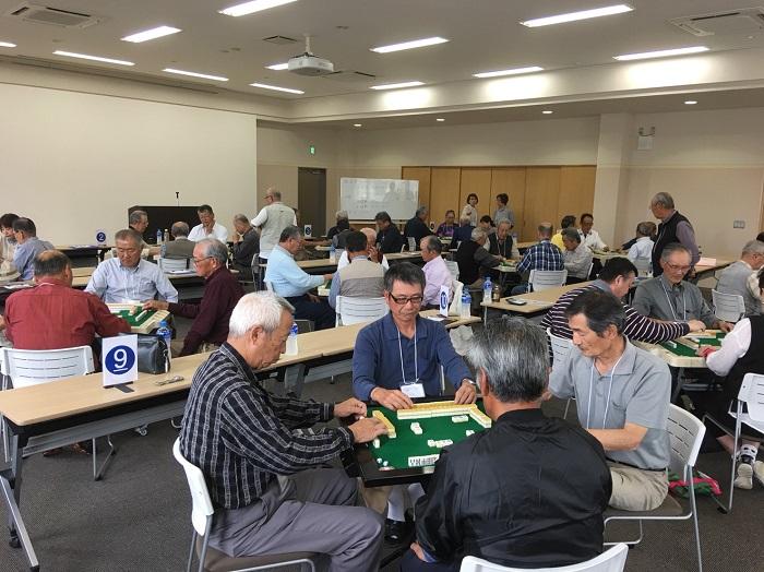 第28回(平成30年度)因伯シルバー大会・健康マージャン大会