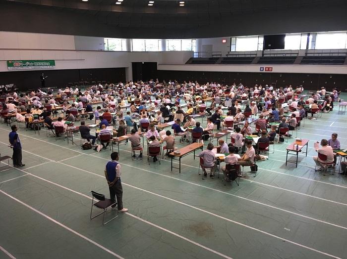 第2回岐阜県知事賞争奪健康マージャン県民交流大会